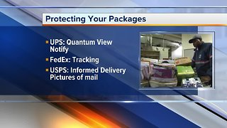 Protecting your holiday packages from porch pirates