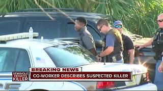 Co-worker describes Howell Donaldson III, suspected killer in Seminole Heights murders - Video
