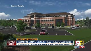 Rumpke breaks ground on new headquarters in Colerain Township - Video