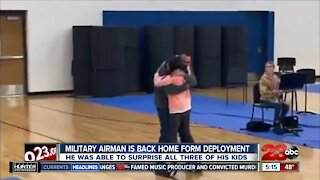 Check This Out: Military airman is back home from deployment