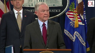 Jeff Sessions Gives Press Conference After President Trump Criticism - Video