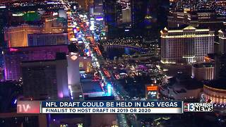 Las Vegas named finalists for 2019, 2020 NFL Draft says report - Video