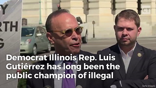"""Gutierrez Cries """"Uncle"""" on Building Wall - Video"""
