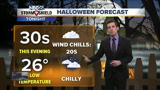Coldest Halloween in 21 years - Video