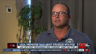 New law helps first responders get workers' comp for PTSD
