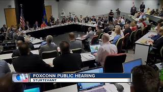 Lawmakers hold public hearing on Foxconn package - Video