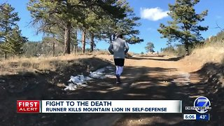 Trail runner suffocates, kills an attacking mountain lion