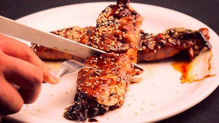 Sesame scallion chicken is about to become a staple on your dinner rotation - Video