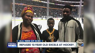 Hockey player finds a mentor and makes a lifelong friendship with his coach