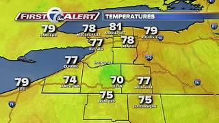 7 First Alert Forecast - 0809 Noon - Video