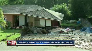 I-Team: 30 percent of sinkhole homes weren't repaired according to engineers' recommendations - Video