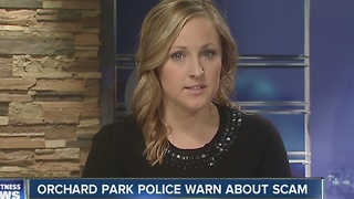 Orchard Park police warn of fundraising scam - Video