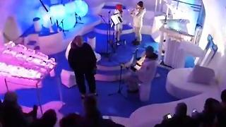 Concert Hall Made Of Ice - Video