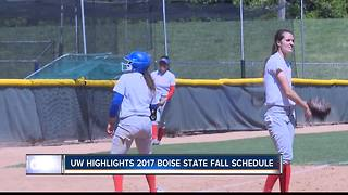 Washington highlights BSU fall softball schedule - Video