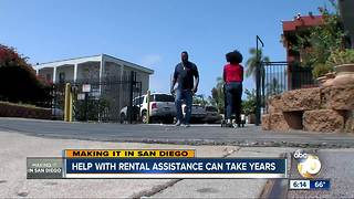 Help with rental assistance can take years - Video