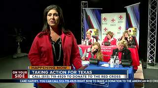Taking Action For Texas: WCPO phone bank just way Tri-Staters are helping - Video