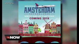 Delta airlines to offer nonstop flights to Amsterdam from Tampa