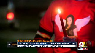 Dozens mourn loss of Hamilton mother hit, killed while crossing street - Video
