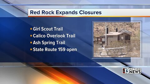 Red Rock Canyon expands closures