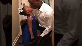 Dad Surprises Daughter With Valentine's Day Date
