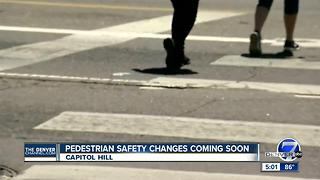 Pedestrian safety a hot topic in Capitol Hill - Video