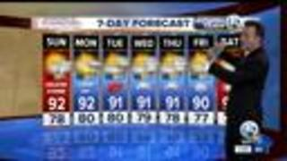 Saturday Evening local weathercast - Video