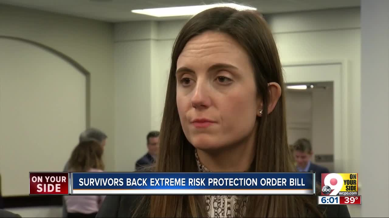 Fifth Third shooting survivor testifies in support of red flag law in Kentucky