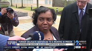 Former delegate sentenced to 6 months in prison for theft of campaign funds