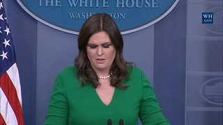 Huckabee Sanders Says Trump Believes Russia Meddled In Elections But Won't Press Issue With Putin - Video