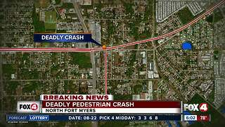 Pedestrian fatally hit by car overnight in North Fort Myers - Video