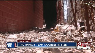 Tulsa Police Impact Team doubles in size