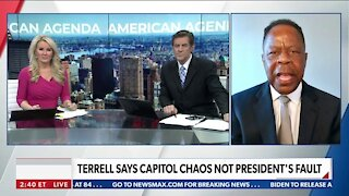 Terrell Says Capitol Chaos Not President's Fault