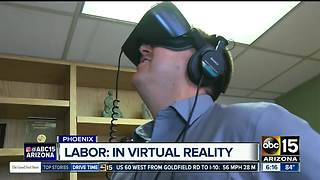 Virtual reality labor, would you try it? - Video