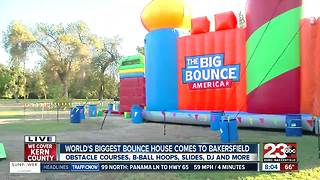 World's Biggest Bounce House from The Big Bounce America - Video