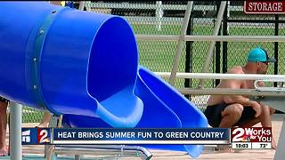 Heat brings summer fun to Green Country - Video