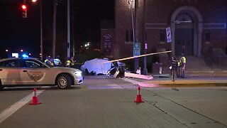 One dead after police chase in Cleveland overnight