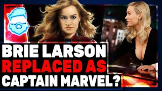 Brie Larson FIRED From Captain Marvel & Failing Youtube Channel Blamed? Mandalorian Actress Replaces