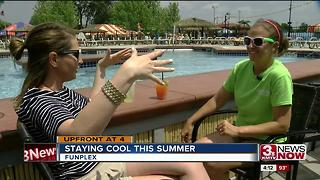 Omahans beat the heat at Fun-Plex - Video