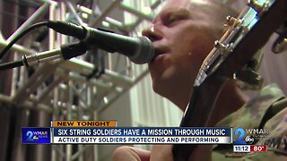 Six-String Soldiers have a mission through music