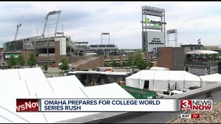 Downtown Omaha prepares for College World Series
