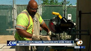 Re-entry program helping inmates land jobs