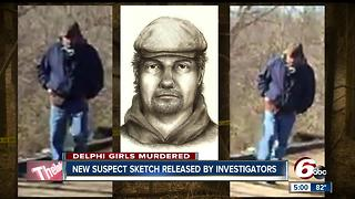 Police release sketch of Delphi suspect - Video