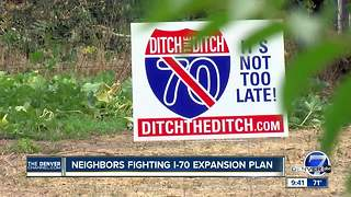 Neighborhoods still fighting against I-70 expansion project - Video