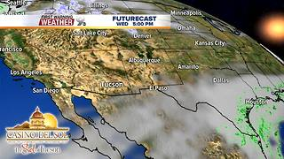 FORECAST: Clouds return without rain - Video