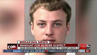 Kaleb Kessinger wanted in connection to toddler's death - Video