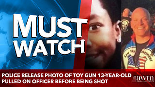 Police Release Photo Of Toy Gun 13-Year-Old Pulled On Officer Before Being Shot - Video