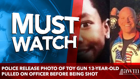 Police Release Photo Of Toy Gun 13-Year-Old Pulled On Officer Before Being Shot