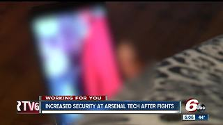 Security being increased at Arsenal Tech High School following several fights on campus - Video
