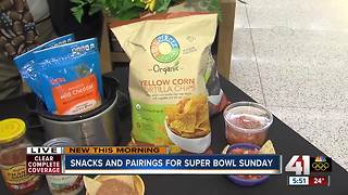 Snacks and pairings for Super Bowl Sunday