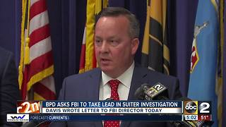 Baltimore Police ask FBI to take over Detective Suiter's murder investigation - Video
